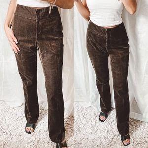 Vintage DKNY Brown Corduroy Pants NWT